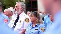 Moments and sounds from funeral services for Silsbee firefighter Jay Hinkie