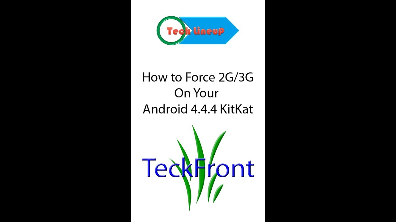 How to force 3G/4G only on your Android 4 4 Kitkat device with few