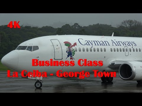 Cayman Airways Business Class La Ceiba - George Town 737-300