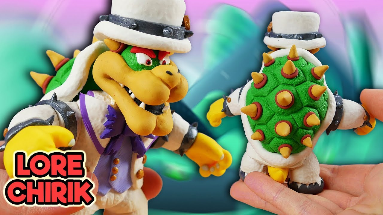 Making Bowser from Super Mario Odyssey + Roleplay