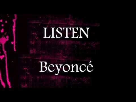 Listen - Beyoncé || Lower Key Karaoke (-5)