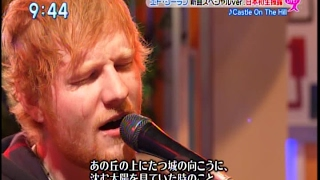 Ed Sheeran Castle On The Hill (TV Performance )