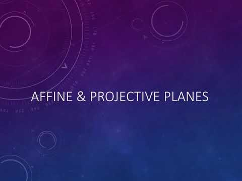 Affine And Projective Planes (part 1)