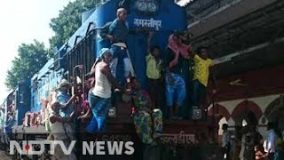 Youth packing Bihar trains has one destination. Elsewhere.