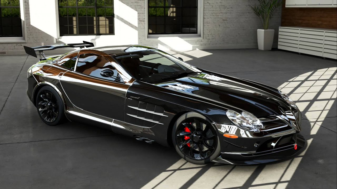 Mercedes-Benz SLR Mclaren Chrome Version: Inside Look - YouTube