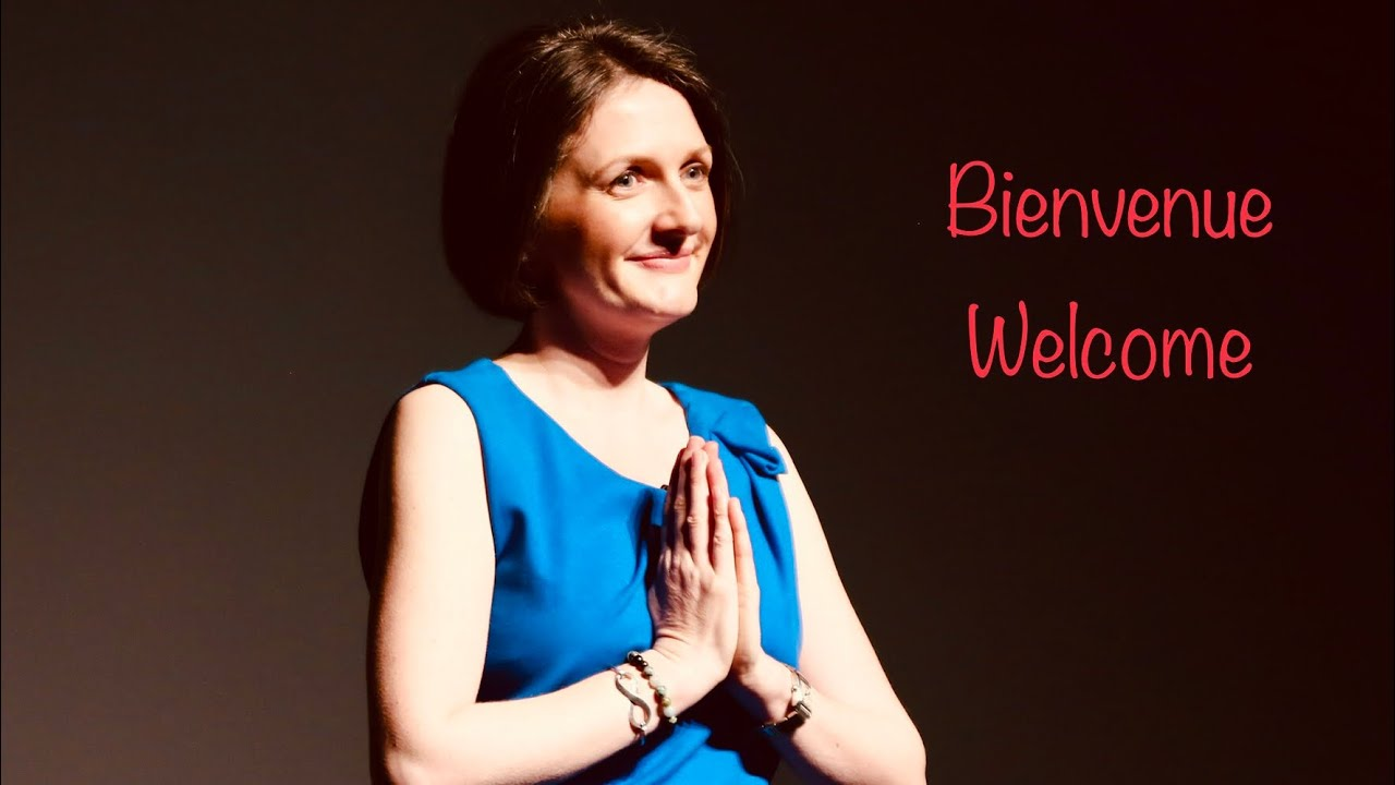 Welcome! Bienvenue - this is the start of a Joyful Life