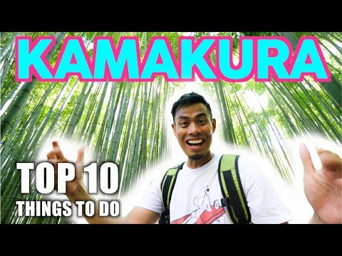 Top 10 Things To DO In KAMAKURA Japan   Best 1 Hour Tokyo Escape Ft Zoom Stryder EX