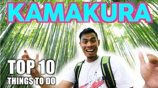 Top 10 Things to DO in KAMAKURA Japan | Best 1 Hour Tokyo Escape ft Zoom Stryder EX