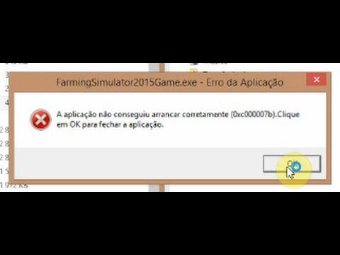 Easy fix error 0xc00007b (for Farming Simulator 15)