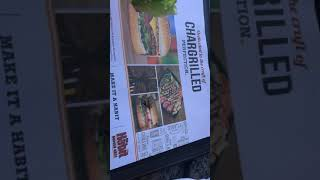 SLOW CARB DIET | Protein Hamburger at The Habit
