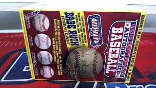 2017 Tristar Hidden Treasures Series 9 Auto Baseball Box ID FEBTRISTAR507