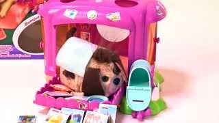 Casa de Bumper McBones un Perro Interactivo de Furry Frenzies