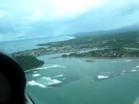 Flying over Tandag, Surigao del Sur, Roilo Golez, 22 January 2011