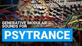 Psytrance Tutorial : Generative Modular Leads in Voltage