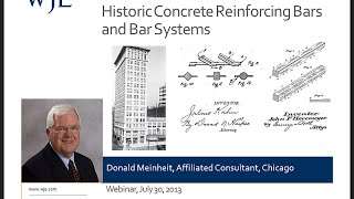 Historic Concrete Reinforcing Bars And Bar Systems
