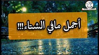خواطر//أجمل مافي الشتاء /خواطر جميلة عن المطر والبرد/