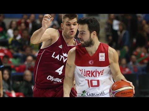 Melih Mahmutoğlu'nun 6 üçlük isabeti bulduğu 24 sayılık müthiş Letonya maçı performansı 24.11.2017