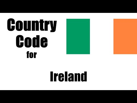Ireland Dialing Code - Irish Country Code - Telephone Area Codes In Ireland