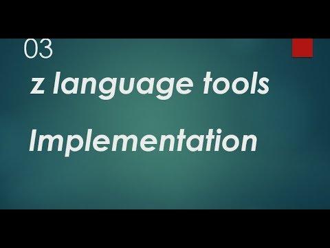 Z Language Implementation | Z Language Schema Development | Z Word Tools | Z Language Tutorial