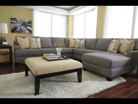 Gray Velvet Sectional Sofa Design Ideas YouTube