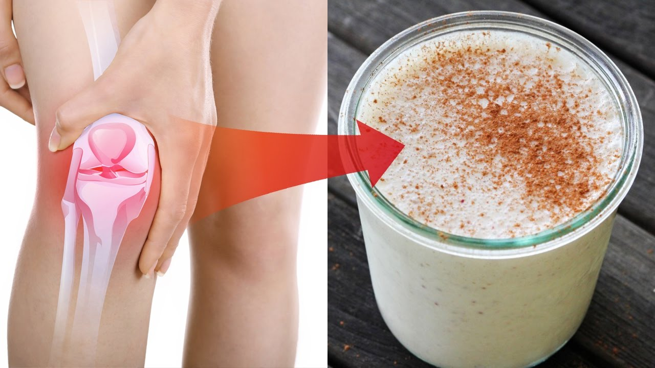 This Drink Will Help You To Eliminate Knee And Joint Pain
