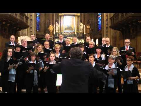 G Aichinger -  Regina caeli laetare - mottetto a 4 voci miste
