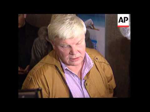 RUSSIA: MOSCOW: RETIRED KGB AGENT GALKIN RETURNS HOME UPDATE