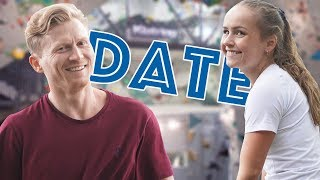Date at Empty Climbing Gym