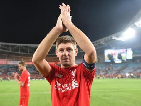 Steven Gerrard retirement speech