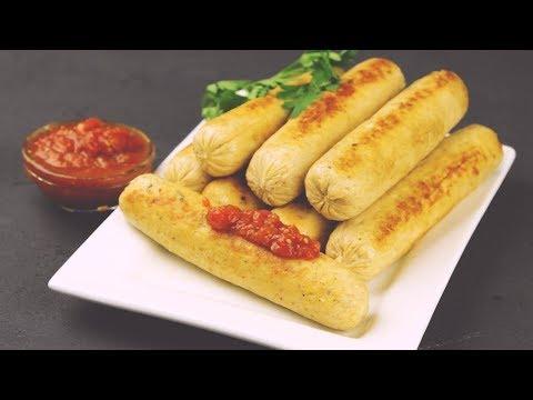 Домашние сосиски из куриного фарша - Рецепты от Со Вкусом