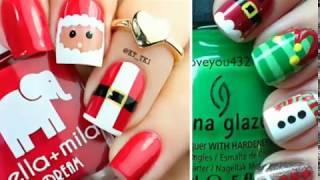 Модный дизайн ногтей на Новый год
