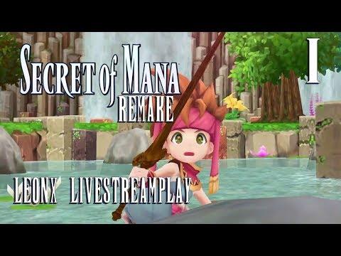 Secret of Mana 2018 remake - LeonX Livestreamplay 1