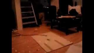 Helga 2012 blowing up a cheese
