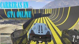 Carreras en GTA Online!!