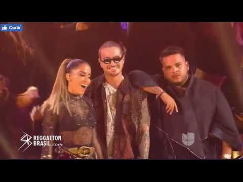 J Balvin e Anitta - Machika & Downtown Premio Lo Nuestro 2018 COMPLETO