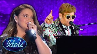 Gambar cover Top 5 Finalist Sing Elton John Songs on American Idol 2019 | Idols Global