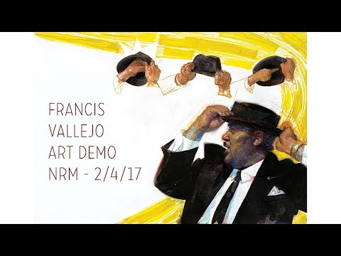Francis Vallejo art demo- Norman Rockwell Museum