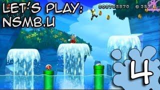 L'aventure New Super Mario Bros U | Le monde Aquatique | Episode 4