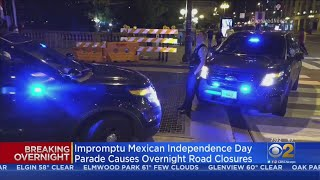 Impromptu Mexican Independence Day Parade Causes Overnight Road Closures In Chicago