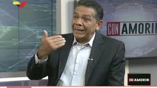 William Castillo, viceministro de Relaciones Exteriores venezolano, en programa Con Amorín