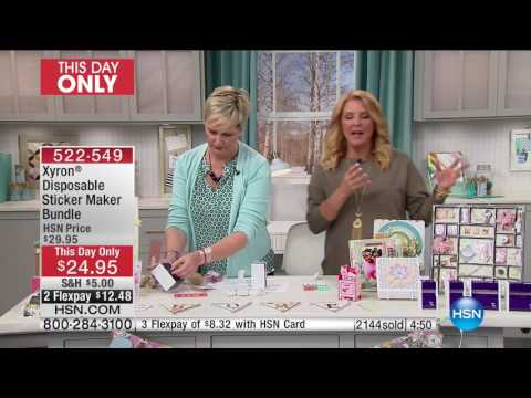 HSN | 24 Hour Craft Day Finale 01.10.2017 - 11 PM