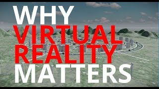 Why Virtual Reality Matters to Integrated Circular City Development