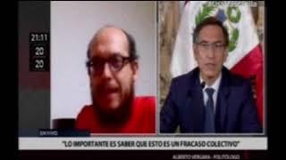 Alberto Vergara en Canal N: análisis de los primeros 100 días de cuarentena
