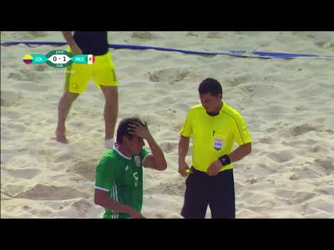 FIFA beach soccer Final 2017  COLOMBIA   MEXICO