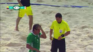 FIFA beach soccer Final 2017  COLOMBIA   MEXICO
