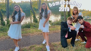 senior year homecoming 2019: get ready with me + vlog
