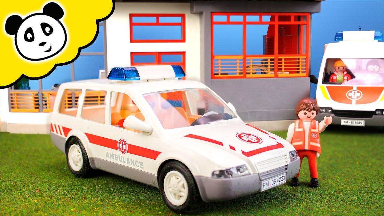playmobil krankenwagen das playmobil sanit ter auto. Black Bedroom Furniture Sets. Home Design Ideas