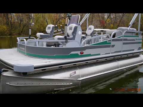 Рыболовный понтонный катер