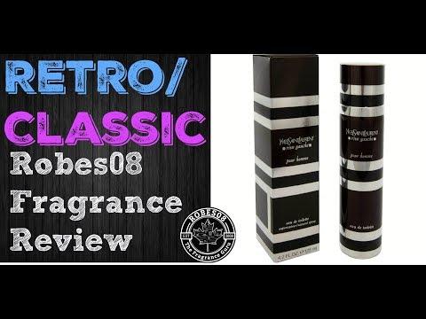 Retro: Rive Gauche Pour Homme by Yves Saint Laurent Fragrance Review (2003)