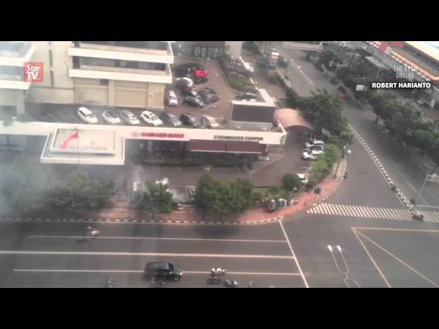 Six explosions rock Jakarta